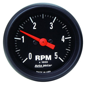 Autometer Z-Series 52mm 5000RPM In-Dash Tachometer