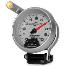 Load image into Gallery viewer, Autometer Ultra-Lite II 3-3/4in 10000 RPM Pedestal Mount Mini-Monster Tachometer