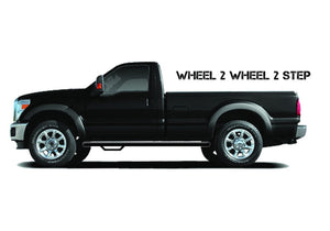 N-Fab Nerf Step 98-06 Ford-Mazda Ranger/B-Series Supercab/Plus Cab 6ft Bed - Gloss Black - W2W - 3in