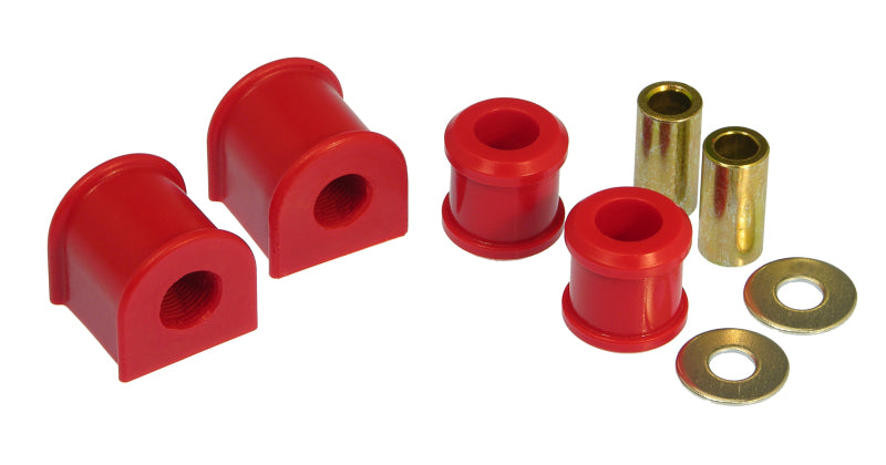 Prothane 07-11 Jeep JK Rear 19mm Sway Bar & End Link Bushings - Red