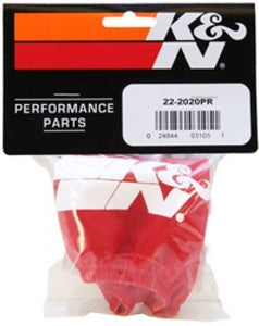 K&N Yamaha WRB650/WB700/WRB700/WRA700 Red Oval Straight Drycharger Air Filter Wrap