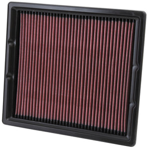 K&N Replacement Filter 11.25in O/S Length x 10in O/S Width x 1.25in H for 13 Cadillac XTS 3.6L V6