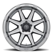 Load image into Gallery viewer, ICON Bandit 20x10 5x5 -24mm 4.5in BS 71.50mm Bore Gun Metal Wheel