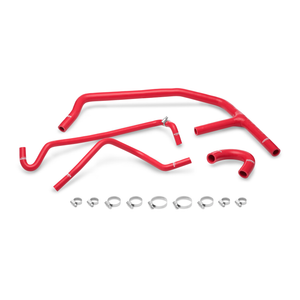 Mishimoto 15+ Ford Mustang EcoBoost Red Silicone Ancillary Hose Kit