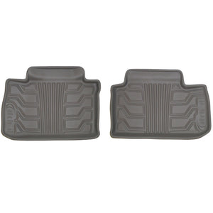 Lund 08-10 Dodge Avenger Catch-It Floormats Rear Floor Liner - Grey (2 Pc.)