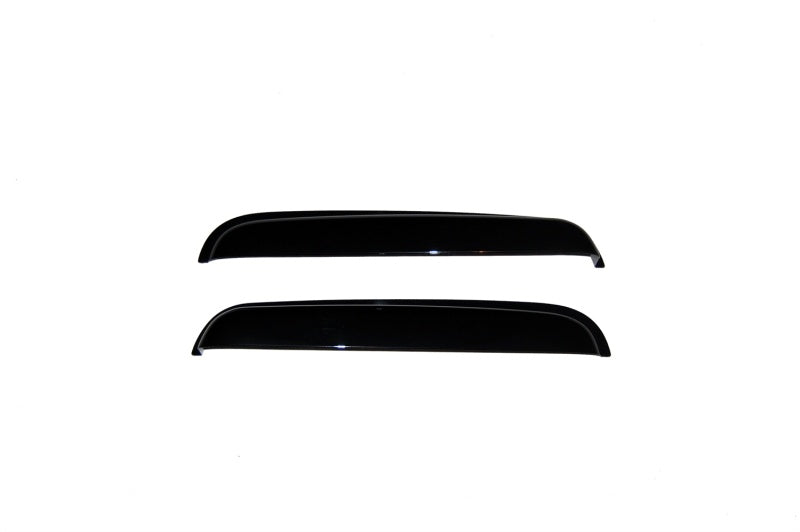 AVS 99-07 Chevy Silverado 1500 Ext. Cab Ventvisor Outside Mount Rear Window Deflectors 2pc - Smoke