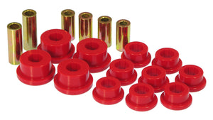 Prothane 95-99 Mitsubishi Eclipse Front Upper/Lower Control Arm Bushings - Red