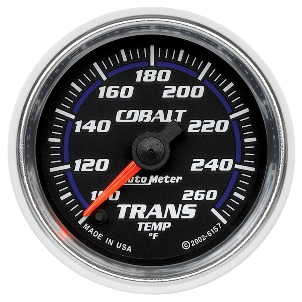 Autometer Cobalt 52mm 100-260 Deg F Electronic Trans Temp Gauge
