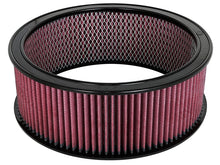 Load image into Gallery viewer, aFe MagnumFLOW Air Filters Round Racing P5R A/F RR P5R 14OD x 12ID x 5H E/M (Blk/Red)