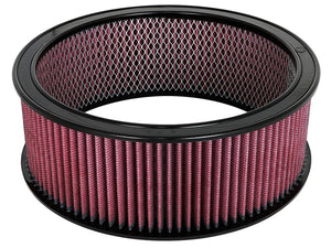 aFe MagnumFLOW Air Filters Round Racing P5R A/F RR P5R 14OD x 12ID x 5H E/M (Blk/Red)