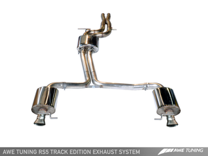 AWE Tuning Audi B8.5 RS5 Cabriolet Track Edition Exhaust System