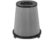 Load image into Gallery viewer, aFe Quantum Pro DRY S Air Filter Inverted Top - 5.5inx4.25in Flange x 9in Height - Dry PDS