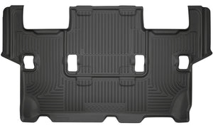 Husky Liners 2015 Ford Expedition/Lincoln Navigator WeatherBeater 3rd Row Black Floor Liner