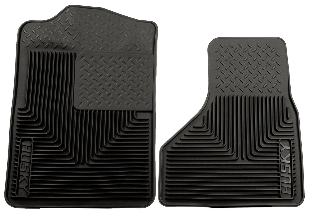 Husky Liners 08-10 Ford F-250/F-350/F-450 SuperDuty Heavy Duty Black Front Floor Mats