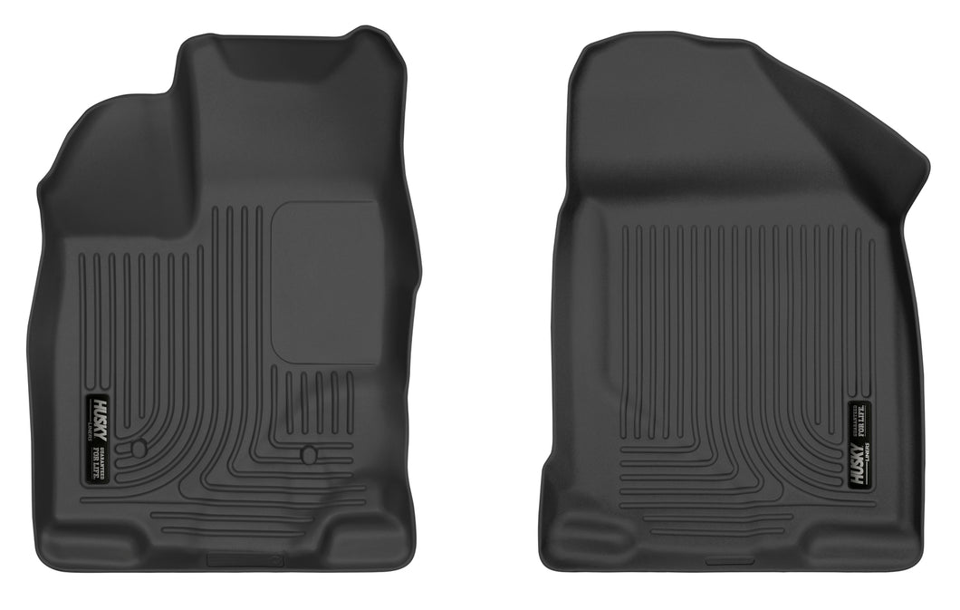 Husky Liners 07-14 Ford Edge / 07-15 Lincoln MKX X-Act Contour Black Front Floor Liners