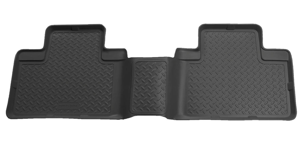 Husky Liners 00-02 Ford F-150 Super Crew Cab Classic Style 2nd Row Black Floor Liners