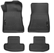 Load image into Gallery viewer, Husky Liners 10-12 Ford Mustang WeatherBeater Combo Black Floor Liners