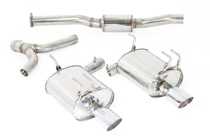 MXP 99-09 Honda S2000 New Oval Dual Comp ST Exhaust System