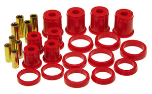 Prothane 84-99 Jeep Cherokee/Commander Front Control Arm Bushings - Red
