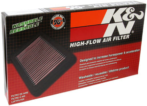 K&N Replacement Air Filter 2000 FIAT PUNTO II 1.2L-16V