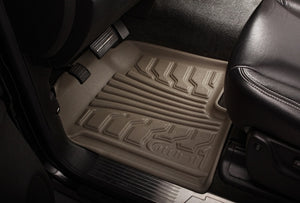 Lund 08-10 Ford F-250 Super Duty Catch-It Floormat Front Floor Liner - Tan (2 Pc.)