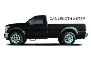 N-Fab Nerf Step 02-08 Dodge Ram 1500/2500/3500 Regular Cab - Tex. Black - Cab Length - 3in