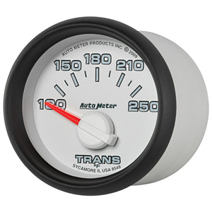 Autometer Factory Match 52mm Short Sweep Electronic 100-250 Deg F Transmission Temperature Gauge