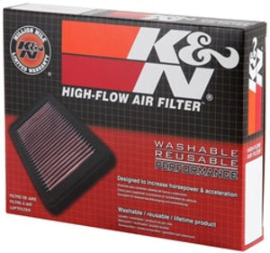 K&N Replacement Air Filter CHEVROLET AVEO 2004-2009; PONTIAC WAVE 2006-2008