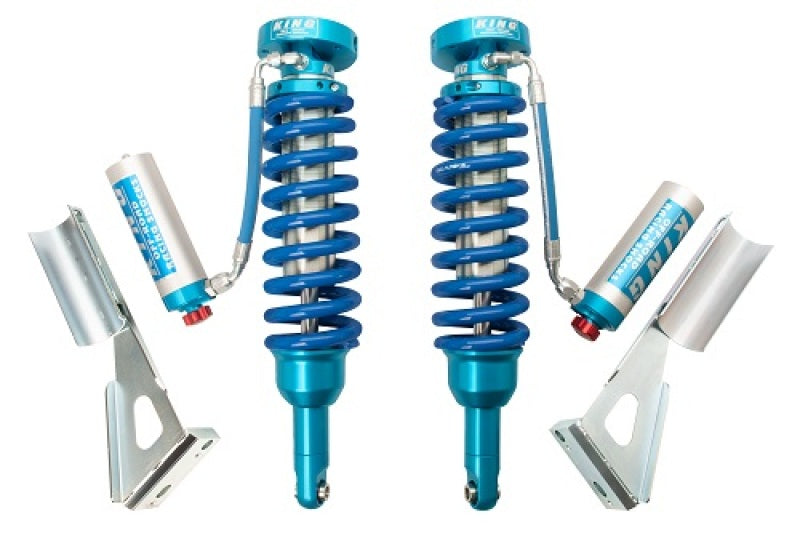 King Shocks 2005+ Toyota Tacoma (6 Lug) Front 2.5 Dia Remote Res Coilover w/Adjuster (Pair)