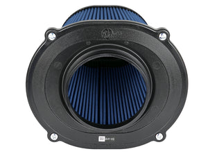 aFe Quantum Pro-5 R Air Filter Inverted Top - 5in Flange x 8in Height - Oiled P5R