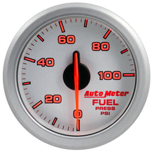 Load image into Gallery viewer, Autometer Airdrive 2-1/6in Fuel Pressure Gauge 0-100 PSI - Silver