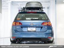 Load image into Gallery viewer, AWE Tuning VW MK7 Golf SportWagen Touring Edition Exhaust w/Chrome Silver Tips (90mm)