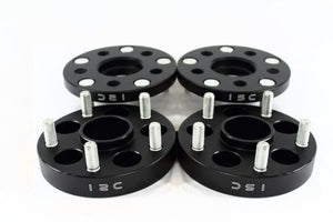 ISC Suspension 5x114.3 Hub Centric Wheel Spacers 20mm Black (Pair)