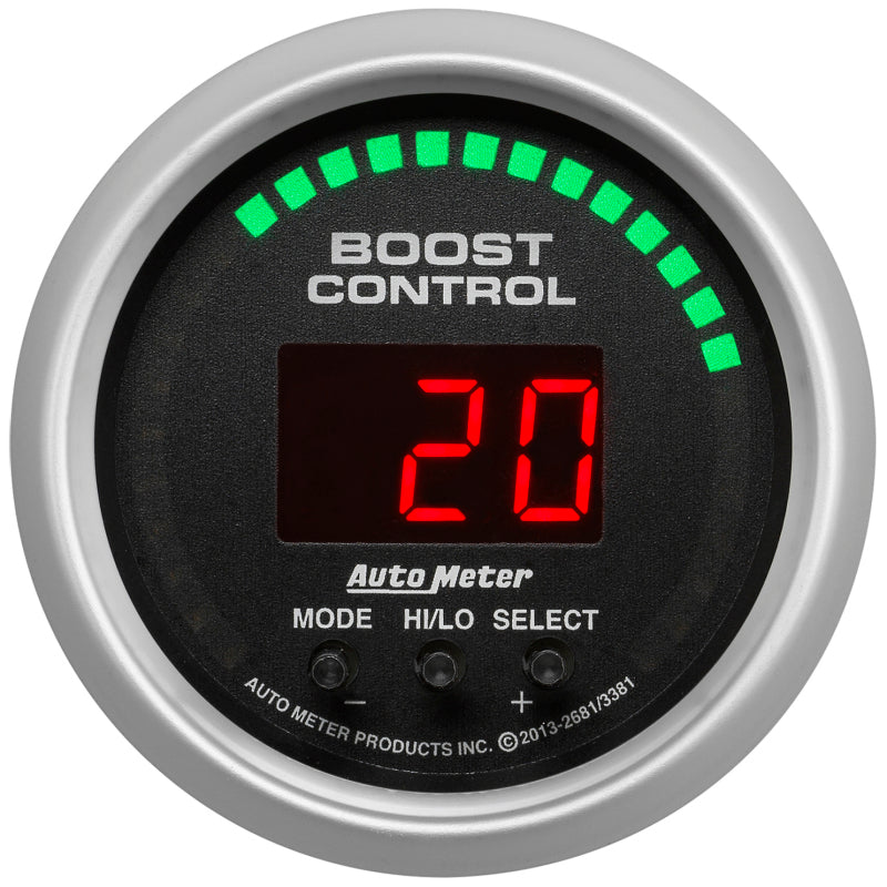Autometer Sport-Comp 52mm 30inHG/30psi Digital Boost Controller