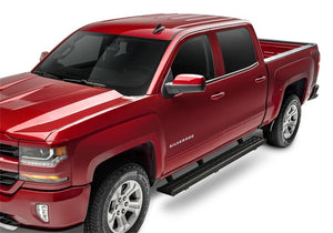 N-Fab Growler Fleet 15-18 Chevy/GMC Colorado/Canyon Crew Cab - Cab Length - Tex. Black