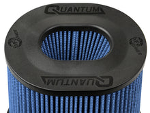 Load image into Gallery viewer, aFe Quantum Pro-5 R Air Filter Inverted Top - 5in Flange x 8in Height - Oiled P5R