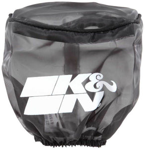 K&N Air Filter Drycharger Wrap Black - 4.5in ID 4in H Polyster