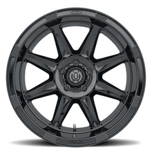 Load image into Gallery viewer, ICON Bandit 20x10 5x150 -24mm 4.5in BS 110.10mm Bore Gloss Black Wheel