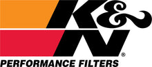 Load image into Gallery viewer, K&N Kawasaki / Yamaha / Sea Doo / Polaris Red Round Tapered Drycharger Filter Wrap 3in x4.5inx4in