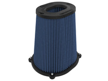 Load image into Gallery viewer, aFe Quantum Pro-5 R Air Filter Inverted Top - 5.5inx4.25in Flange x 9in Height - Oiled P5R