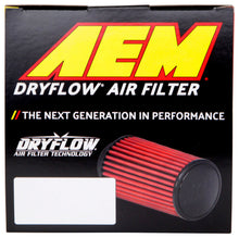 Load image into Gallery viewer, AEM DryFlow Air Filter 2-3/4in. Flange / 4in. OD / 5in. H / 10 Degree Flg. (Special Order)