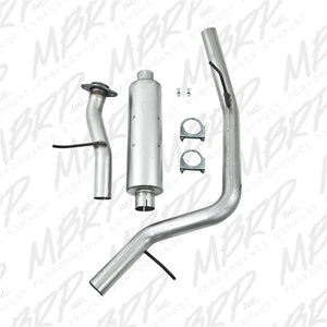 MBRP 2000-2006 Chev/GMC Tahoe/Yukon 5.3L Cat Back Single Side AL P Series Exhaust