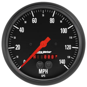 Autometer Z-Series 5in. 0-140MPH (GPS) Speedometer Gauge