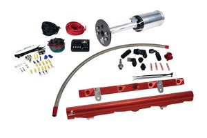 Aeromotive C6 Corvette Fuel System - A1000/LS2 Rails/PSC/Fittings