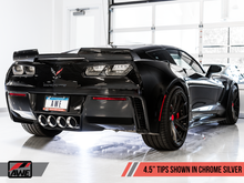 Load image into Gallery viewer, AWE Tuning 14-19 Chevy Corvette C7 Z06/ZR1 (w/o AFM) Touring Edition Axle-Back Exhaust w/Chrome Tips