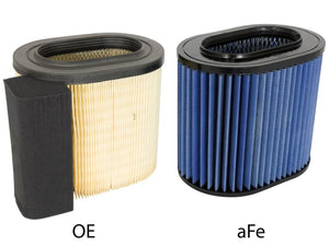 aFe MagnumFLOW Air Filters OER P5R Ford Diesel Trucks 2017 6.7L V8