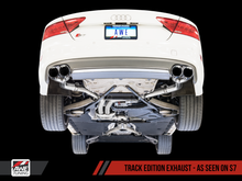 Load image into Gallery viewer, AWE Tuning Audi C7 / C7.5 S6 4.0T Track Edition Exhaust - Chrome Silver Tips