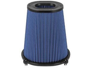aFe Quantum Pro-5 R Air Filter Inverted Top - 5.5inx4.25in Flange x 9in Height - Oiled P5R