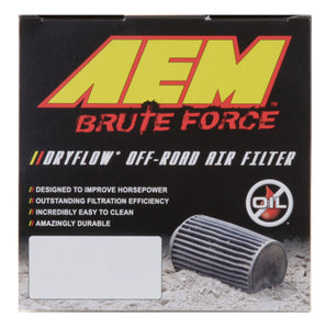 AEM DryFlow Air Filter 5.75in Base OD x 4in Flange ID x 7in H