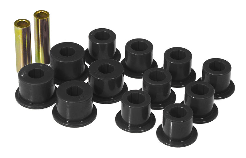 Prothane 86.5-97 Nissan Hardbody 2wd Spring & Shackle Bushings - Black